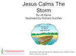 Jesus calms the storm small booklet web